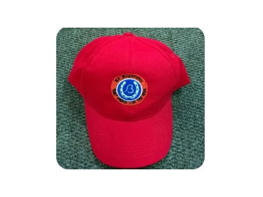 Red Brushed Cotton Cap - R 39.95